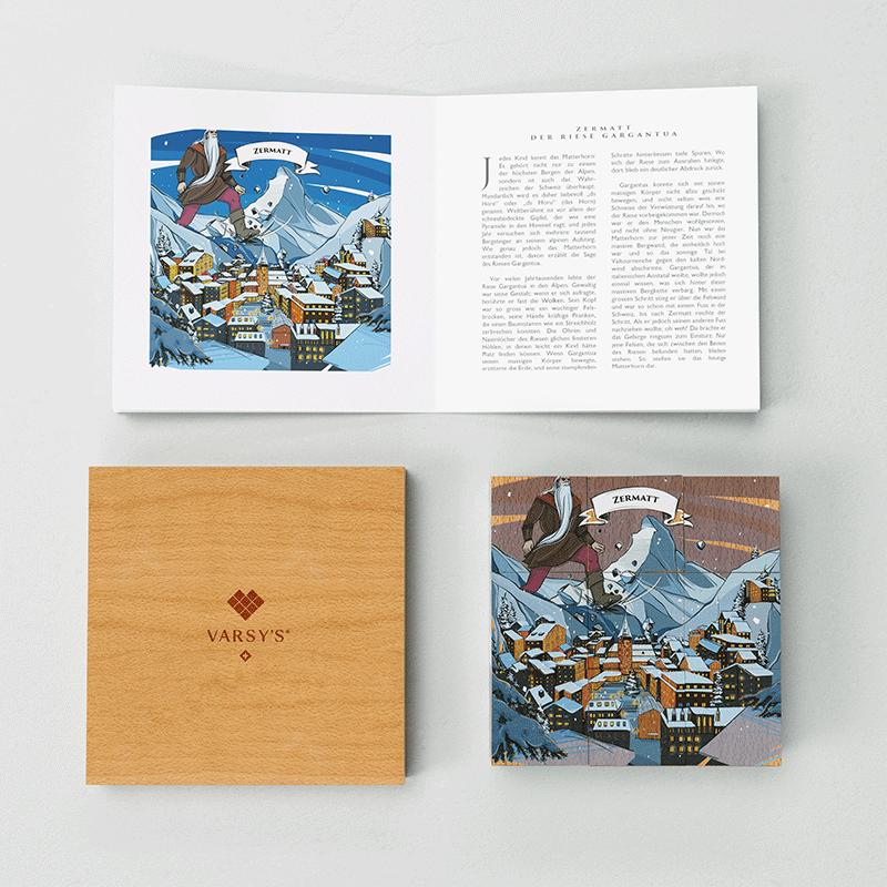 [:en]Discover the story of the Matterhorn and 5 other Swiss legends with VARSY'S Legendbox Limited Edition.[:de]Die Geschichte vom Matterhorn, dem Wahrzeichen der Schweiz, entdecken Sie mit VARSY'S Legendenbox, dem perfekten Schweizer Geschenk.[:]