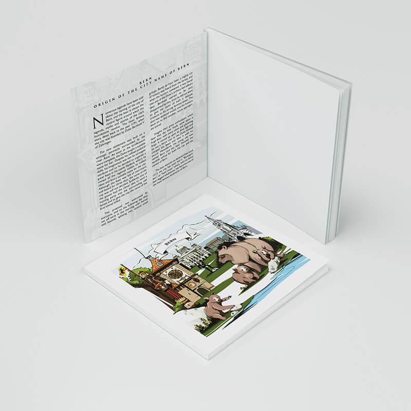 Entdecke Schweizer Sagen und die Bern Geschichte mit VARSY'S Legendären Notizbüchern.