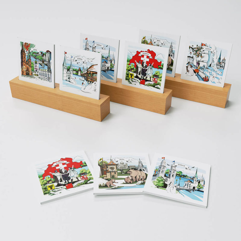 [:en]Illustration of Swiss legends and heroes on VARSY'S Swiss notebooks - the perfect gift from Switzerland[:][:de]Handgemalte Illustrationen von Helden und Sagen aus der Schweiz auf unseren Schweizer Notizbüchern, die perfekten Schweizer Souvenirs[:]