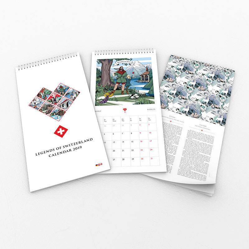 Discover a new Swiss legend each month with VARSY'S legendary Swiss calendar. We've got your perfect gifts from Switzerland.