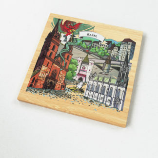 VARSY'S Magnets Switzerland - Learn about the basel basilisk and enjoy the illustration on our beloved Swiss souvenirs.