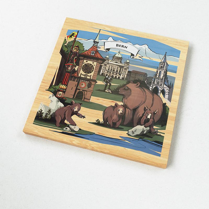 [:en]The illustration on VARSY'S Magnets Switzerland show the famous mascots of Bern and explain the Swiss story of Bern.[:][:de]Die Illustration auf VARSY'S Magnete Schweiz zeigen das Wappentier von Bern und weisen auf eine beliebte Schweizer Legende hin.[:]