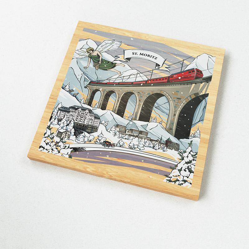 [:en]The Swiss magnets show a Swiss made illustration of the legend of the many languages of Grison.[:][:de]VARSY'S Magnete Schweiz zeigen eine preisgekrönte Illustration der Legende von Graubünden - ein perfektes St. Moritz souvenir.[:]