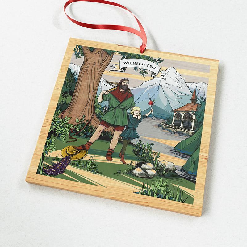 [:en]The illustration on VARSY'S Magnets Switzerland show the famous Swiss hero William Tell and his son.[:][:de]Die Illustration auf VARSY'S Magnete Schweiz zeigen den Schweizer Helden Wilhelm Tell und seinen Sohn.[:]
