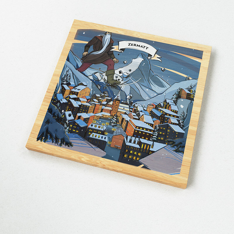 VARSY'S Magnets Switzerland - Find out how the Matterhorn got its iconic shape.