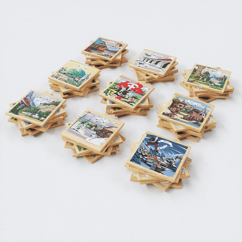 Magnete Schweiz sind ein beliebtes Schweizer Geschenk - praktisch und originell.